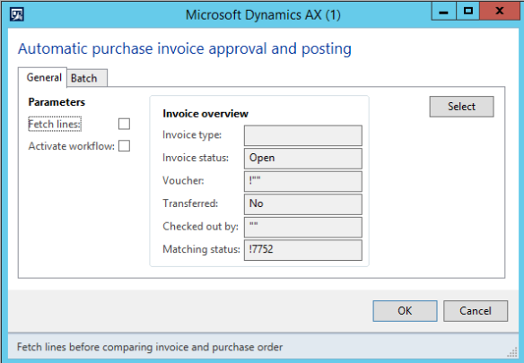 Invoice Workflow for Purchase Order in Dynamics AX 2012 ...